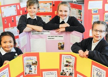 Budding scientists from Merstham Primary head to university for finals