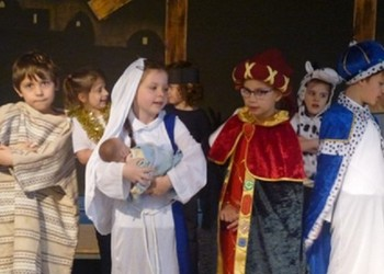 ' Wriggly Nativity' Performance
